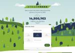 Organisation TeamTrees sammelt fast 15 Millionen Dollar für neue Bäume
